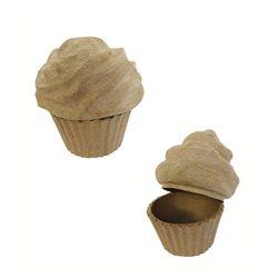 Пирожное/ папье-маше/ 8х10х8 см
