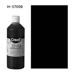 Краска для линогравюры Creall-Lino/черный/250мл