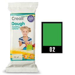 Масса самоотверждаемая Creall Dough Havo/ Зеленая 350 гр