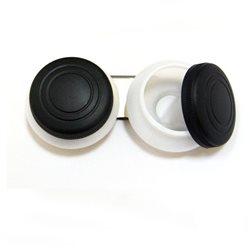 Масленка двойная, пластиковая d-5см