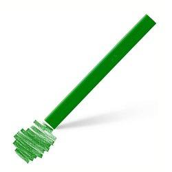 Пастель Polychromos цвет 266 перманентный зеленый