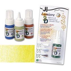 Краска-клей Lumiere 3D, лимон