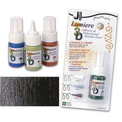 Краска-клей Lumiere 3D, черный