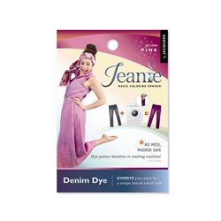 Jeanie Dye, джинсовый краситель для перекрашивания в стир. машине, 004 лиловый