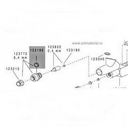 Уплотнение воздушного сопла для Evo/Colani/Focus/Grafo,3шт.