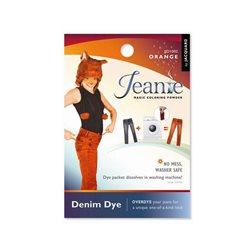 Jeanie Dye, джинсовый краситель для перекрашивания в стир. машине, 002 оранжевый