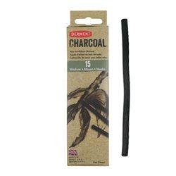 Уголь ивовый Willow Charcoal /средний 4-6мм/ 15 шт.