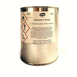 Plexisol P-550-40, акриловая смола Kremer/40% раствор в уайт-спирите