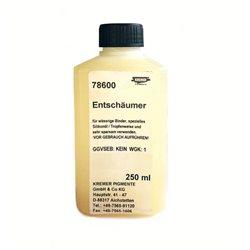 Силиконовое масло, антивспенивающий агент для водных красок - добавка Kremer