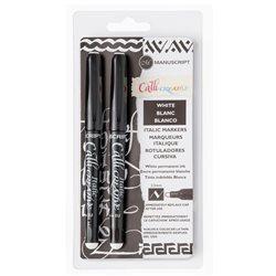 Набор маркеров белого цвета 2.5 мм / 2шт.