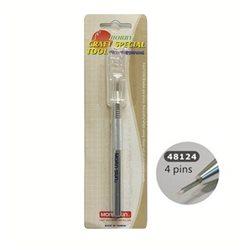 Шило MornSun/ 4- х игольчатое с алюминиевой ручкой