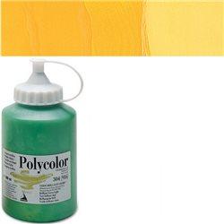 Краска акриловая Поликолор желтый темный