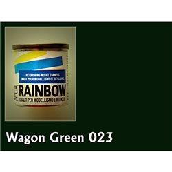 Rainbow глянц. зеленый (вагон), 17мл