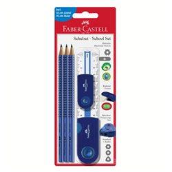 Специальный набор с карандашами Grip 2001 синий