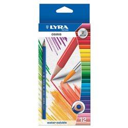 Набор акварельных карандашей Lyra OSIRIS AQUARELL 12 цв.