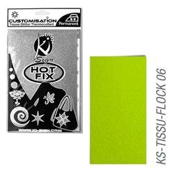 Пленка цветная для создания термопереносимого декора на ткань/ Анисовый велюр ,15х20 см