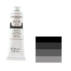 "Краска офортная Lefranc&Bourgeois ""Charbonnel"" черный мягкий/т.60мл"