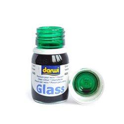 Краска по стеклу Darwi Glass Зеленая 30 мл