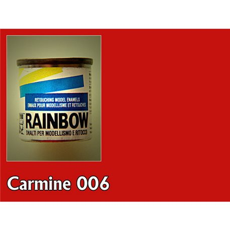 Алкидная модельная Maimer Rainbow глянц. кармин, 17мл