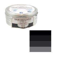 """Краска офортная Lefranc&Bourgeois """"Charbonnel"""" черный 55985/б.200мл"""