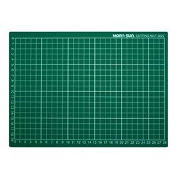 Коврик для резки самовосcтан. /зелёный, мягкий 22х30