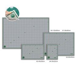 Коврик для резки самовосcтан./ зелёный многослойный 30х45 см