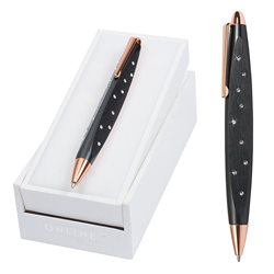 Роллер Crystal Style черный корпус, стразы/ подарочная упаковка