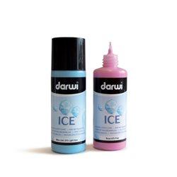 Краска акриловая ICE Темно-синий иней 80 мл