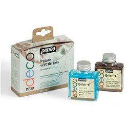 Набор для химического патинирования Pebeo Vert de Gris/2х75мл