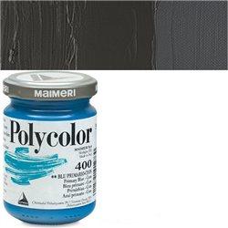 Краска акриловая Поликолор черный