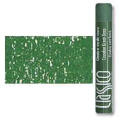 Масляная пастель классико Киноварь зеленая темная