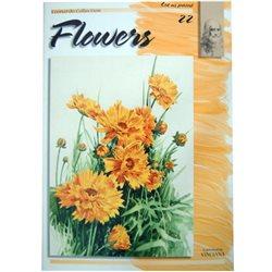 Цветы (на анг. яз.) Flowers LC 22