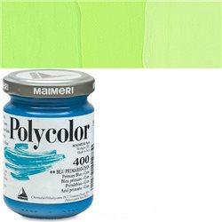 Краска акриловая Поликолор зеленый желтоватый
