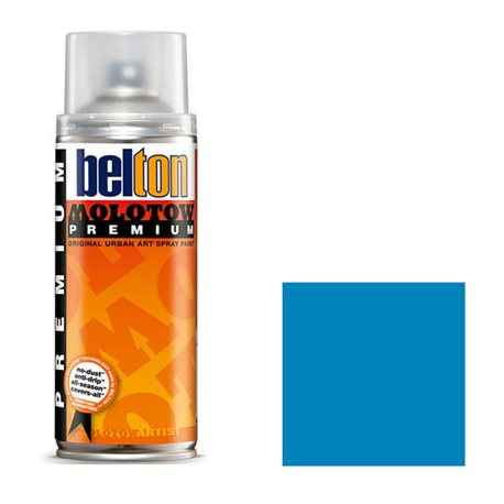 Аэрозоль Belton Molotow Premium Transparent 243 Шоковый синий 400 мл