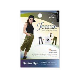 Jeanie Dye, джинсовый краситель для перекрашивания в стир. машине, 009 оливковый