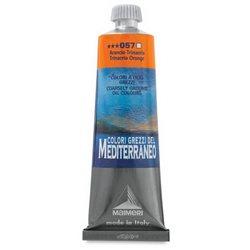 """Краска масляная """"Mediterraneo"""" / Оранжевый Тринакрии"""