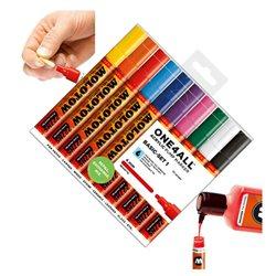 Набор маркеров Molotow 227HS Basic-Set I, 10 цв.х 4 мм