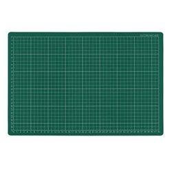 Коврик для резки самовосcтан. /зелёный, мягкий 30х45