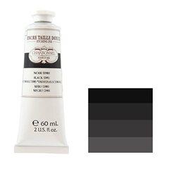 """Краска офортная Lefranc&Bourgeois """"Charbonnel"""" черный 55981/т.60мл"""