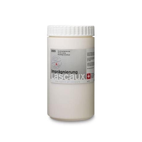 Lascaux Sizing, водно- акриловая грунтовочная проклейка, бесцветная, прозрачная, 1л