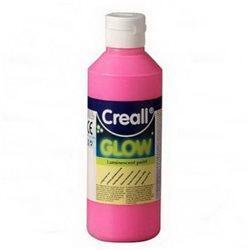 Светящаяся люминисцентная краска Сreall-Glow/розовая/250мл