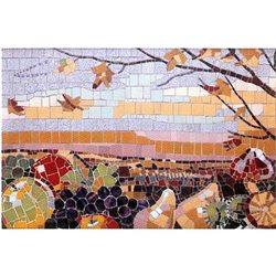 """План рисунка для набора мозаики """"Поднос5"""" (500х350 мм)"""