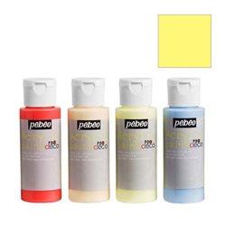 Краска декоративная акрил. Pebeo PBO DECO/ Лимонный