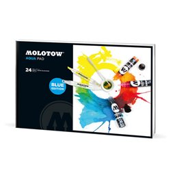Альбом акварельной бумаги Molotow 39х27 см (формат портрет) для аквар.маркеров 24л., 180 г/м