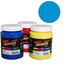 Краска для шелкографической печати s/c Permaset / Синий светлый покрывной