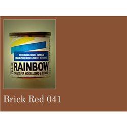 Rainbow матовая красно- кирпичный 17мл