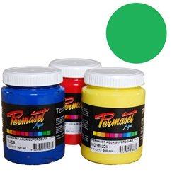 Краска для шелкографической печати s/c Permaset / Зеленый средн.покрывной