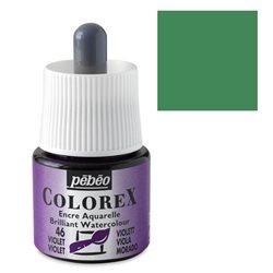 Зеленый мох/ Акварельная тушь Colorex, 45 мл