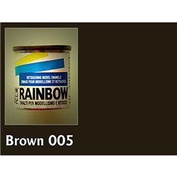 Алкидная модельная Maimeri Rainbow глянц. коричневый, 17мл