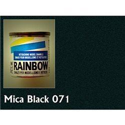 Rainbow глянц. Micaceous black, 17мл